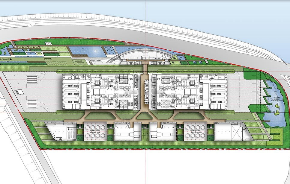 GALLERY LEVEL 1 PLAN